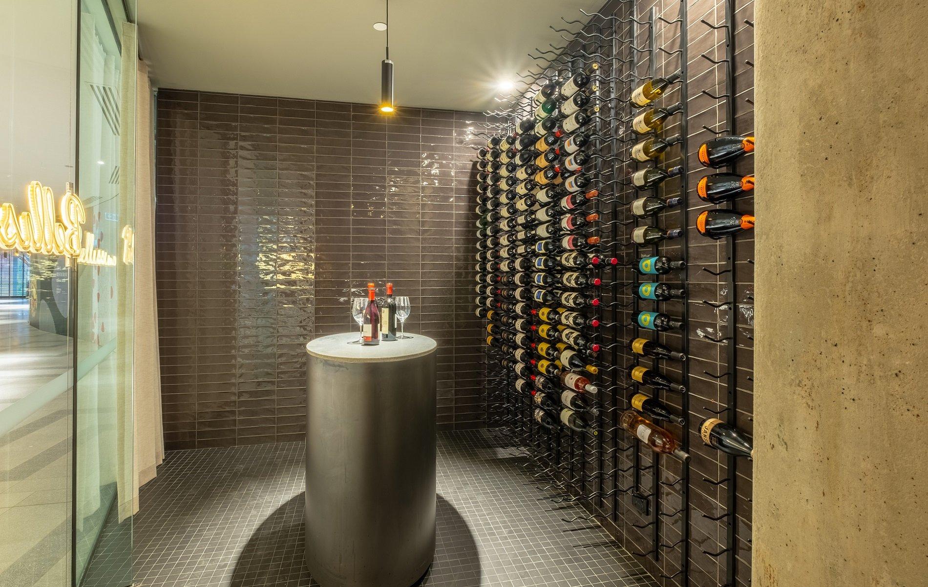 Persone Restaurant Wine Tasting Room